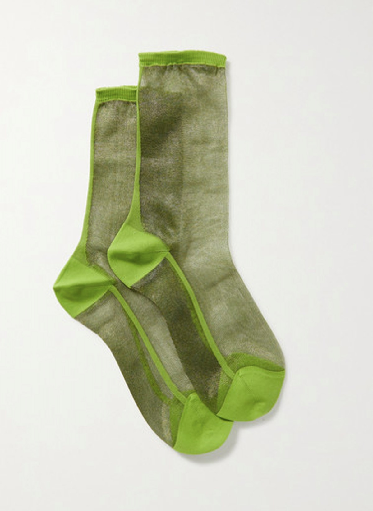 Golf Two Tone Tulle Socks