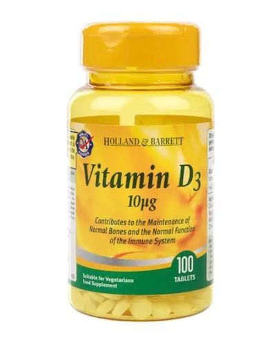 Vitamin D3 100 Tablets