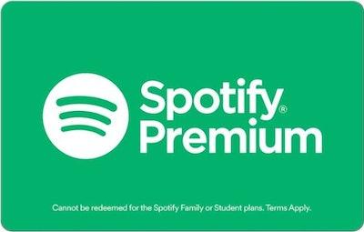 1-Year Spotify Premium Gift Card