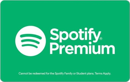 1-Year Spotify Premium Gift Card
