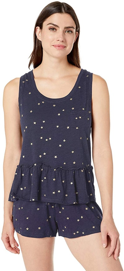 Splendid Sparkling Star Tank Top and Shorts Pajama Set