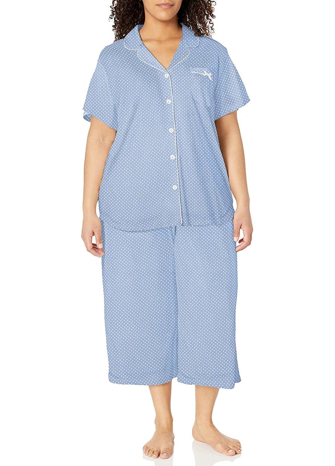 Karen Neuburger Womens Pajama Short Sleeve Pj Sleepdress Night Shirt
