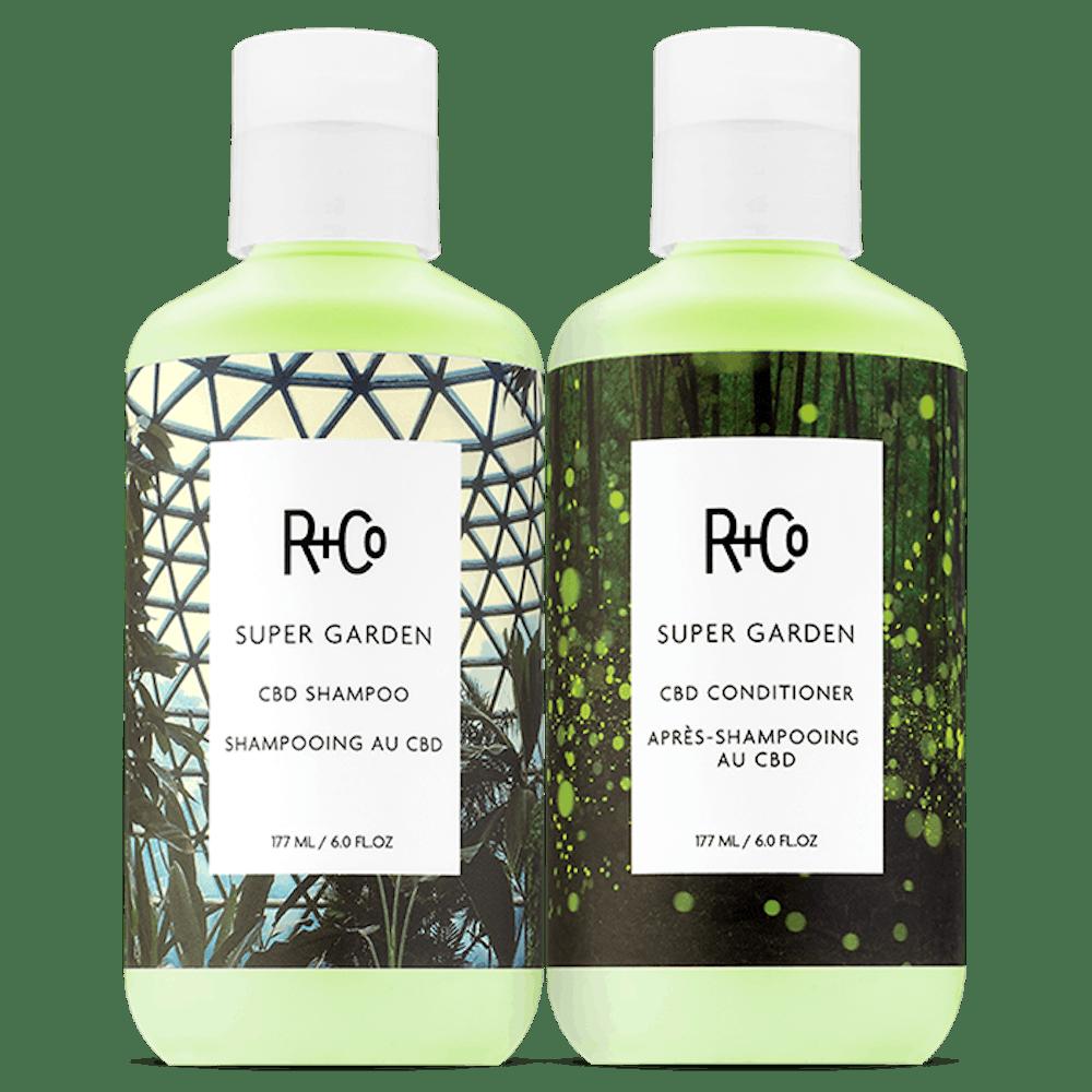 Super Garden CBD Shampoo + Conditionner Set