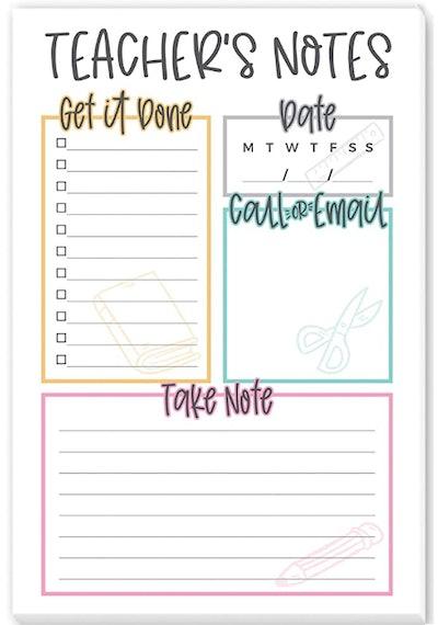 Teacher's Notepad