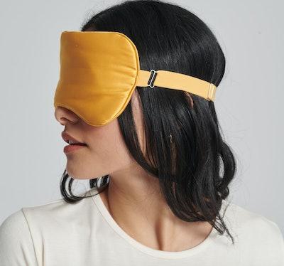 Silk Sleep Mask Marigold