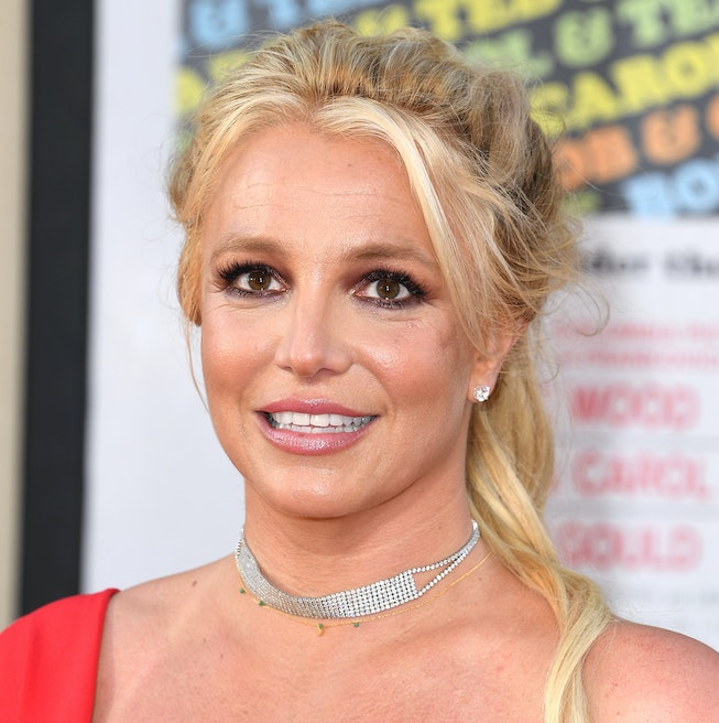 """Britney Spears arrives at the Sony Pictures' """"Once Upon A Time...In Hollywood"""" Los Angeles Premiere ..."""
