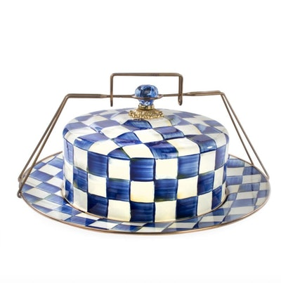 Royal Check Cake Carrier