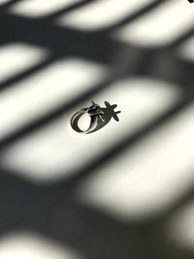 Spire Crescent Ring