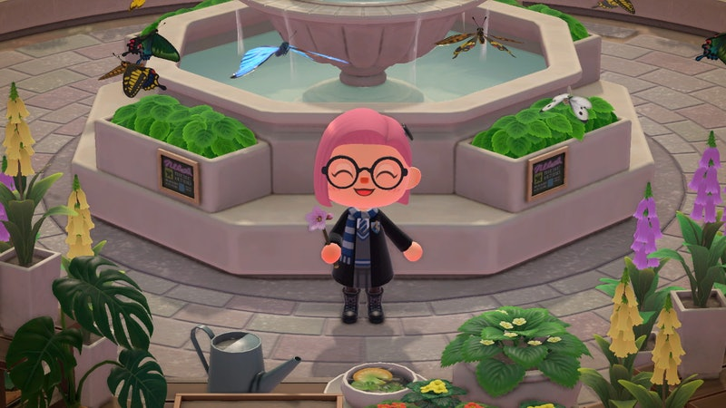 These Harry Potter Animal Crossing Custom Design Codes Are For The Hogwarts Alum Out There