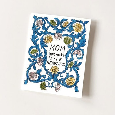 MOTHER'S DAY PRINTABLE GREETING CARD INSTANT DOWNLOAD
