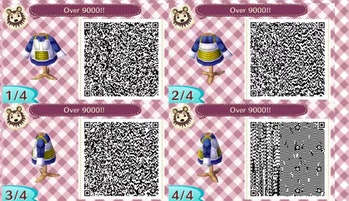 Animal Crossing Designs 18 Qr Codes For Jojo Dbz And