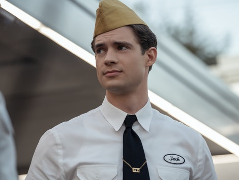 David Corenswet as Jack Costello in Netflix's Hollywood.
