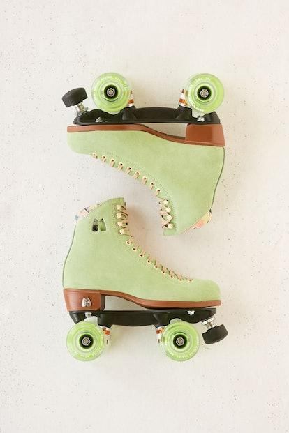 Suede Roller Skates