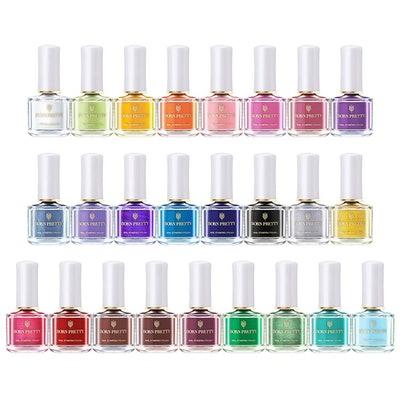 BORN PRETTY 6ml Nail Art Stamping Polish Set
