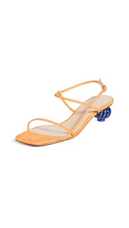 Jacquemus Manosque Suede Sandals