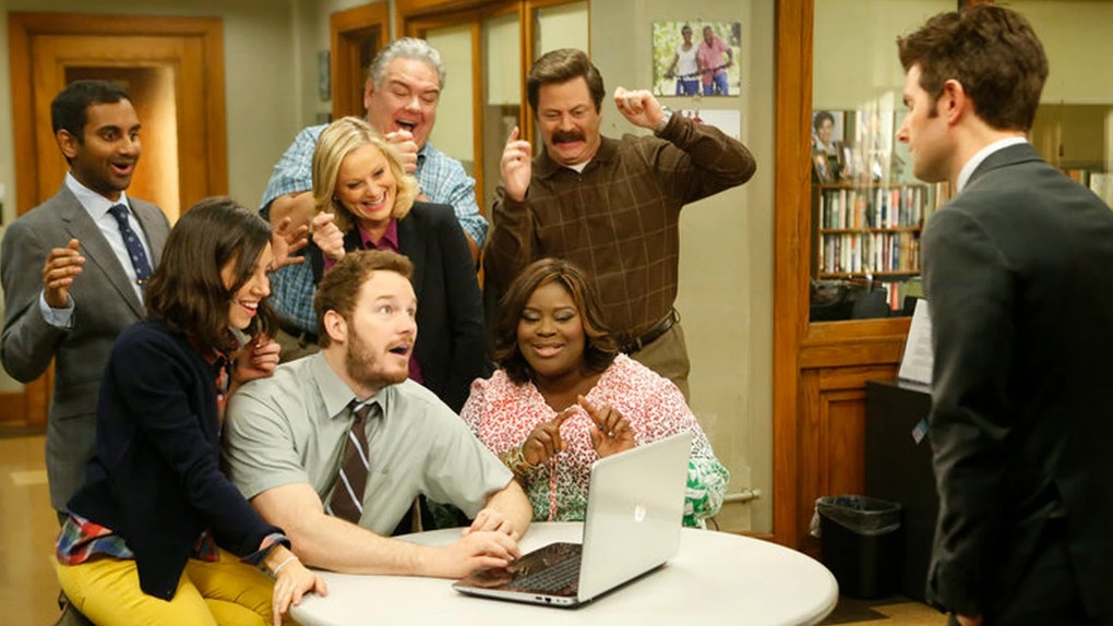 Tweets about the 'Parks and Rec' special