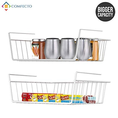 Comfecto Under Shelf Basket (2-Pack)