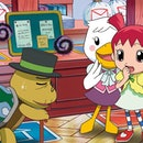 Screenshot from the 2003 Animal Crossing anime