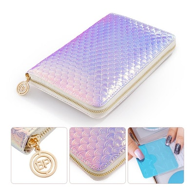 BORN PRETTY Nail Art 72 Slots Stamping Plate Collection Holder