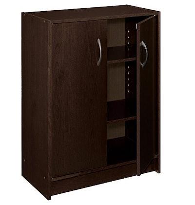 ClosetMaid 2-Door Stackable Laminate Organizer