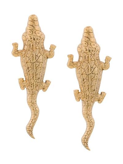 Medium Crocodile earrings