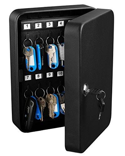 AdirOffice Key Steel Security Storage Holder