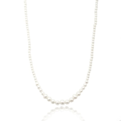 Petite Graduated Pearl Necklace