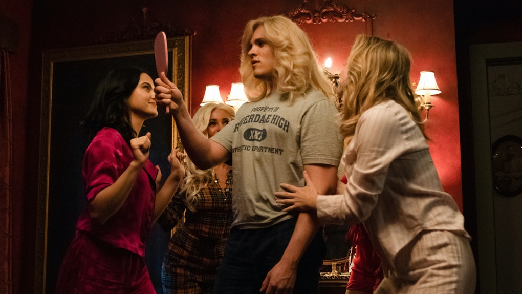 Kevin transforms into Hedwig in the 'Riverdale' Season 4 musical episode.