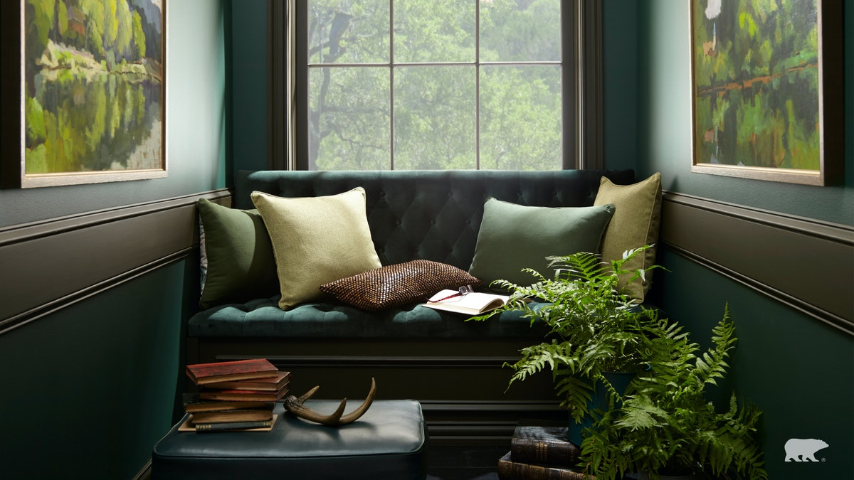 Here are 14 Zoom home backgrounds include designs from Behr and Williams-Sonoma.