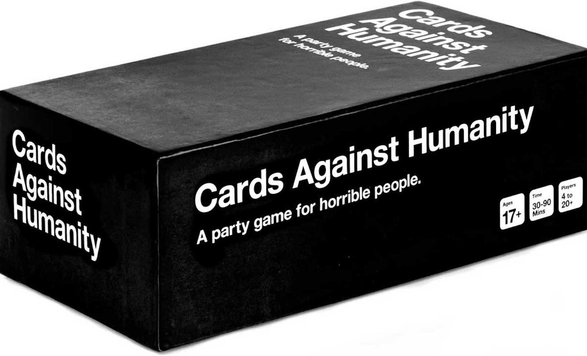 This Free Cards Against Humanity Game is perfect for the whole family.