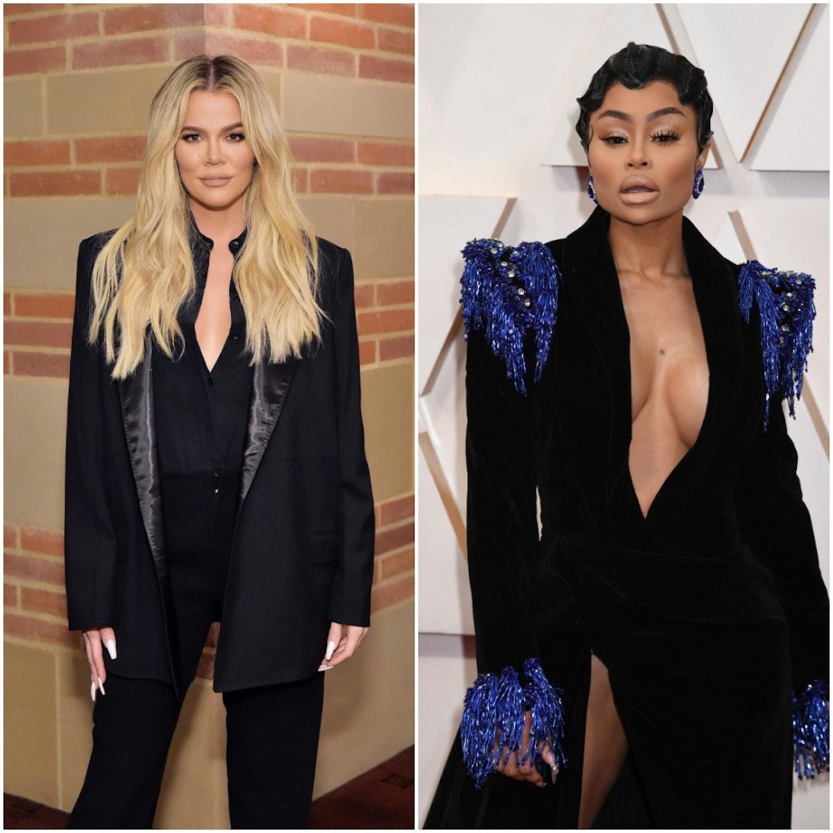 Khloe Kardashian and Blac Chyna