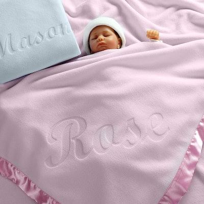 Custom Catch Personalized Baby Blanket