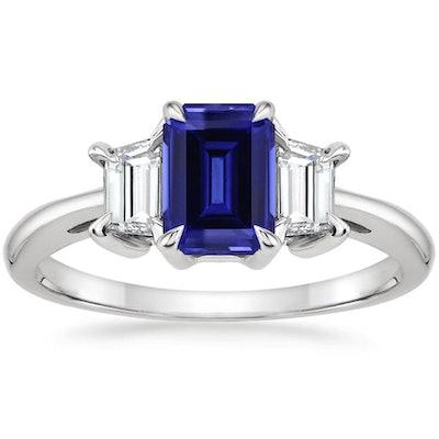 Brilliant Earth Sapphire Embrace Diamond Ring
