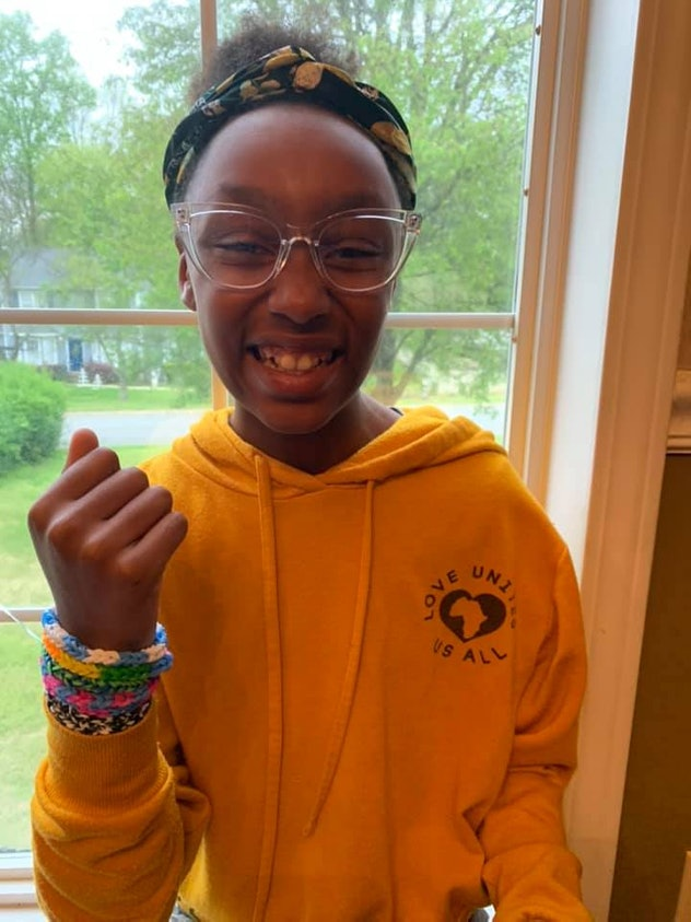 Making friendship bracelets is one way kids can entertain themselves while at home.