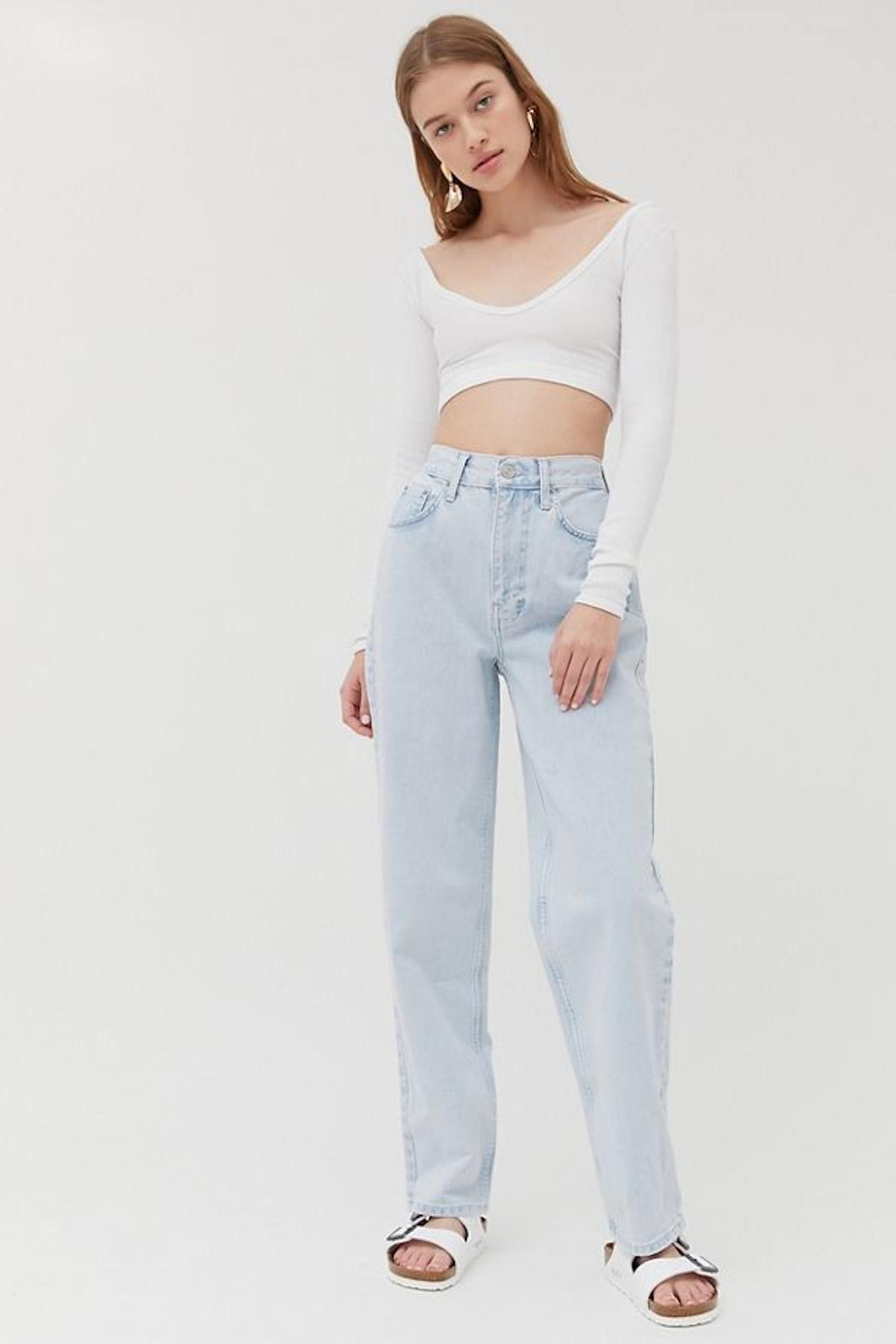 BDG High-Waisted Baggy Jean