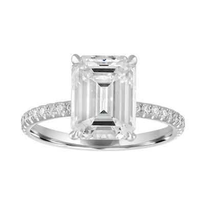 Stepanie Gottlieb Classic Pave Engagement Ring (Price Upon Request)