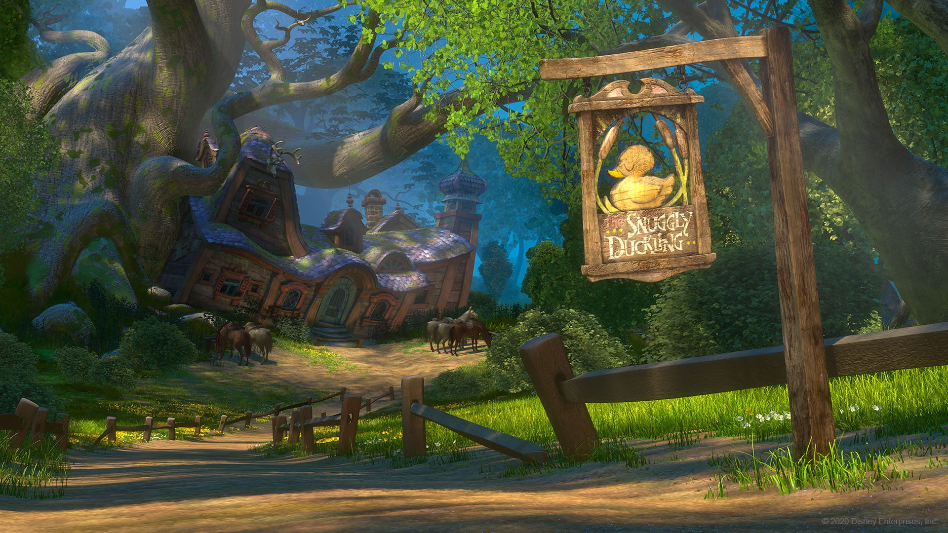 Free Disney Princess Zoom Backgrounds Will Make Your Next Video