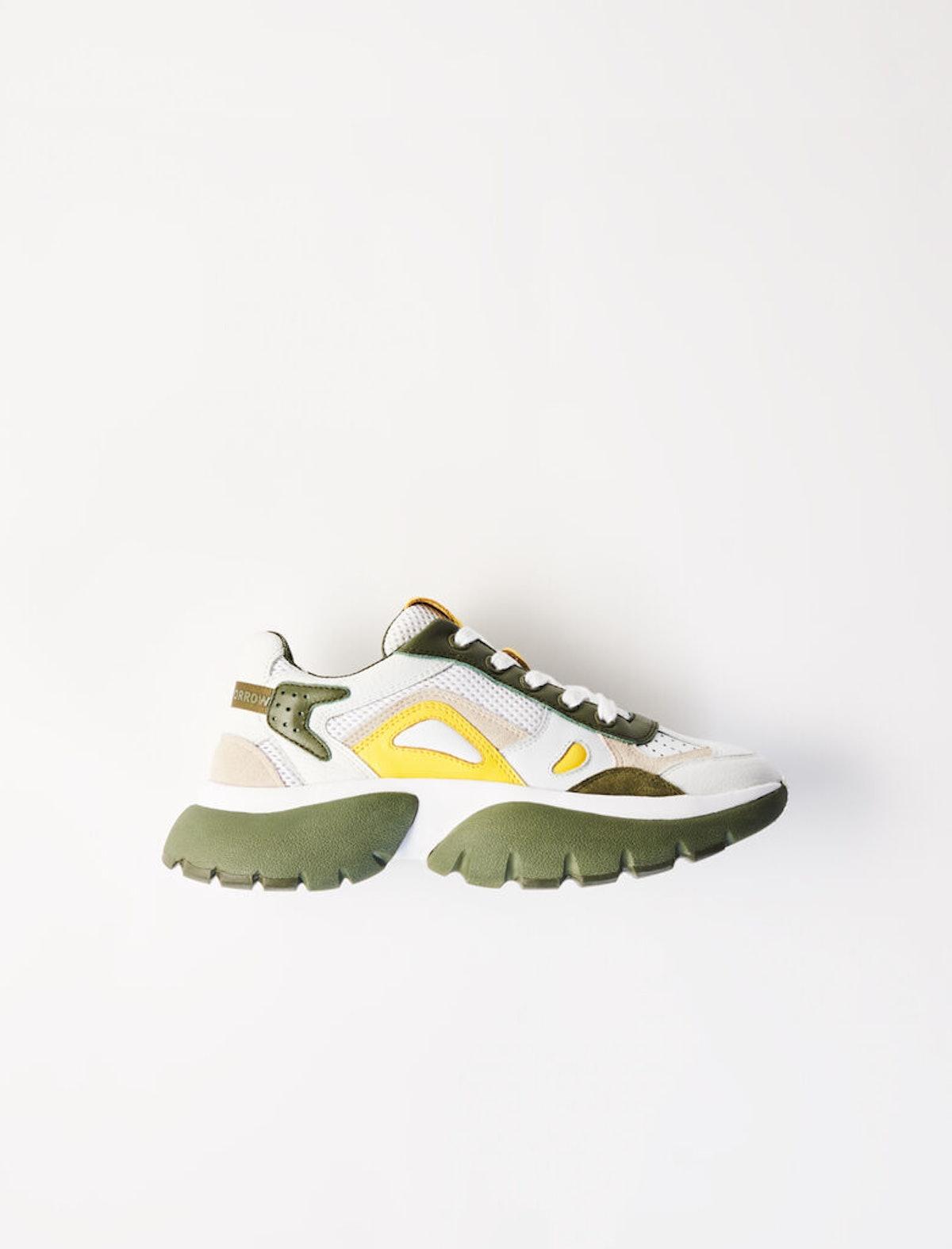 Maje W20 Two-Tone Sneakers