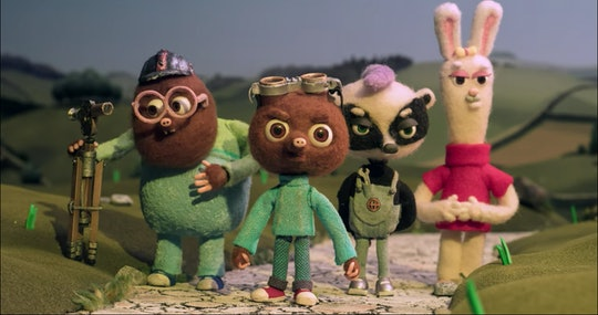 In Strike, a stop-motion family film, a small mole has big dreams of playing soccer despite his family's long history of working as minors.