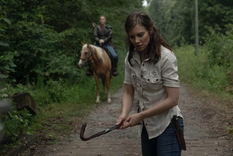Maggie's return to The Walking Dead will happen soon.