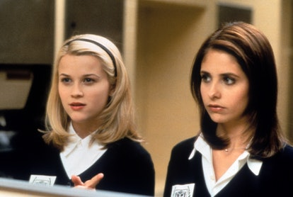 Reese Witherspoon & Sarah Michelle Gellar in a scene from the film 'Cruel Intentions', 1999