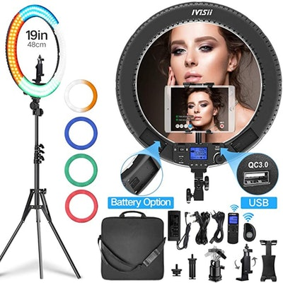 IVISI Ring Light Kit (19-Inches)