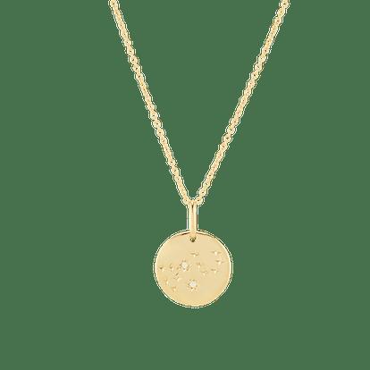 Virgo Necklace Vermeil