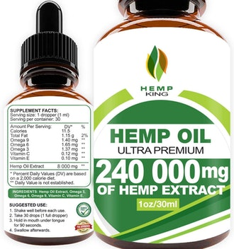 Hemp King Hemp Oil Drops
