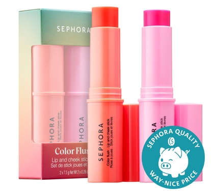 Sephora Collection Color Flush Lip And Cheek Stick Set