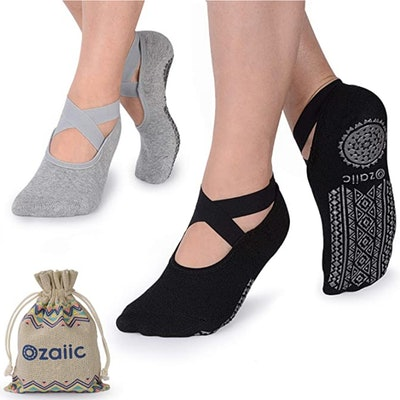 Ozaiic Yoga Socks (2-Pack)