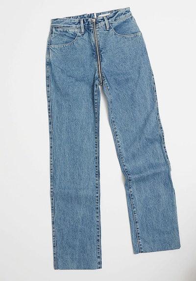 Zip Through Jeans
