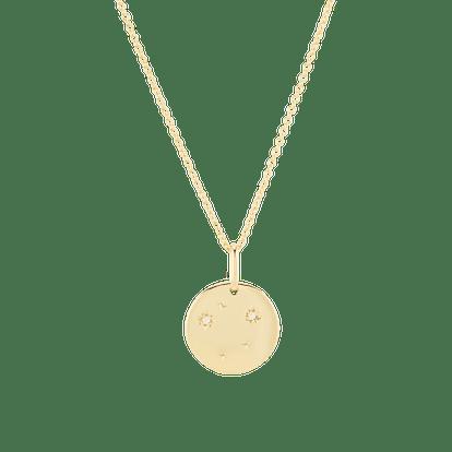 Libra Necklace Vermeil
