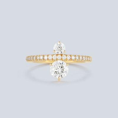 Jemma Wynne Prive Luxe Double Diamond Ring