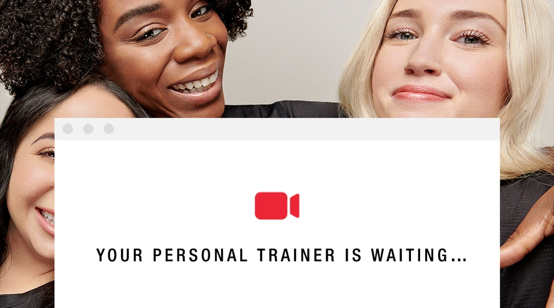 Campaign for FaceGym's new Personal Training virtual workouts.